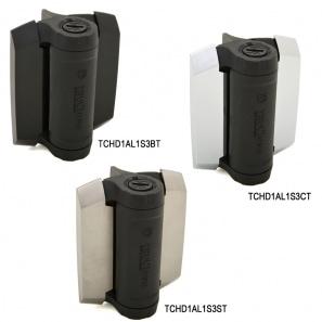 TruClose Heavy Duty - kraftige porthengsler finnes i ulike farger, svart er standard