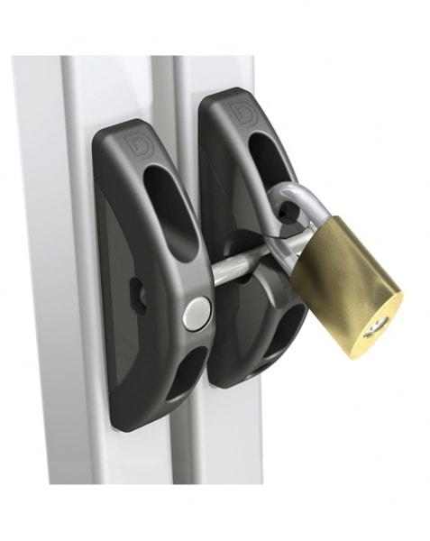 T-Latch funksjonell port og grindlåsen kan låses med hengelås