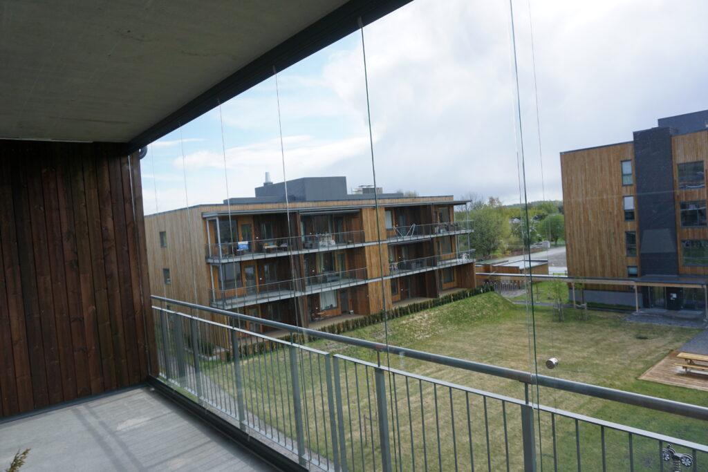 innglasset balkong innvendig
